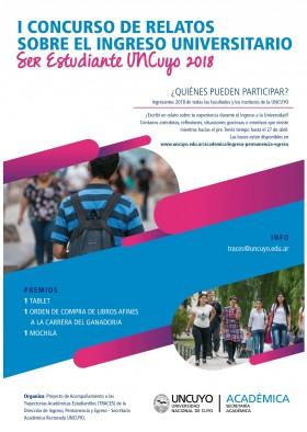 Bases I Concurso de Relatos sobre el ingreso universitario