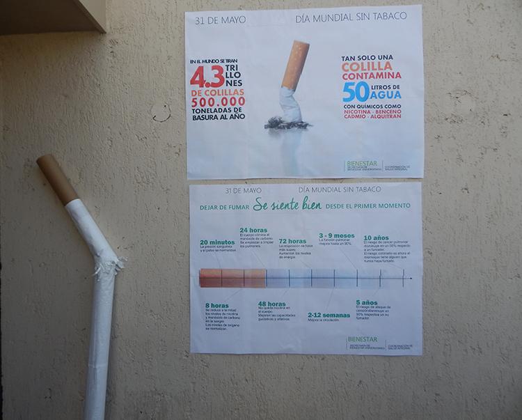 Acciones por el Día Mundial Sin Tabaco