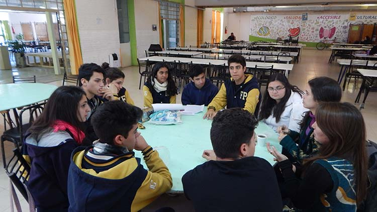 Primer encuentro de representantes estudiantiles de colegios de la UNCuyo