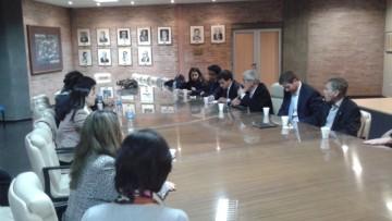 Maestrandos de la Universidad de Georgetown visitaron la UNCuyo