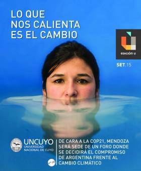 26/09/2015 Cambio Climático es el tema central de Edición U