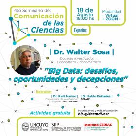 4° Seminario de Comunicación de las Ciencias