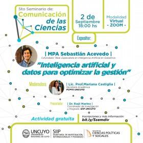 5° Seminario de Comunicación de las Ciencias