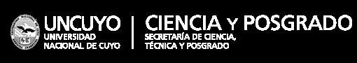 Ir al sitio de la Secretaría de Ciencia, Técnica y Posgrado.