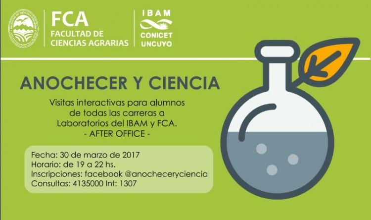 \Anochecer y Ciencia\: un evento para promover las vocaciones científicas