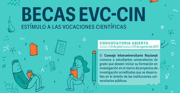 Becas EVC-CIN. Convocatoria 2017.