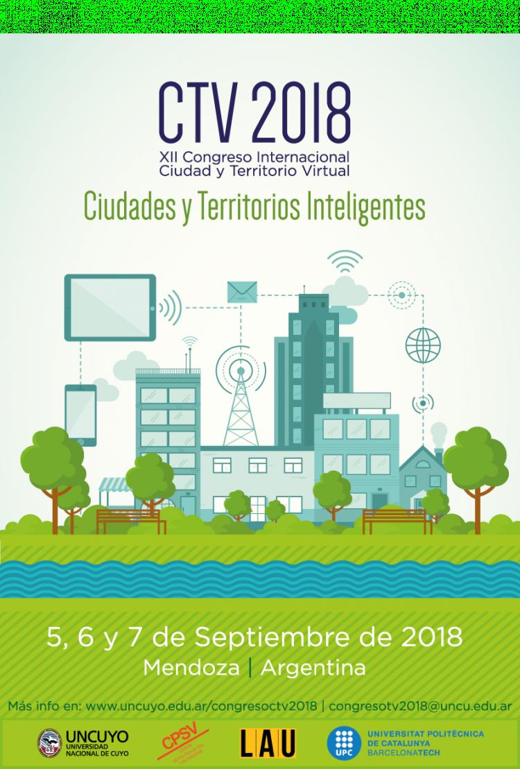XII Congreso Internacional Ciudad y Territorio Virtual (XII CTV). Ciudades y territorios inteligentes