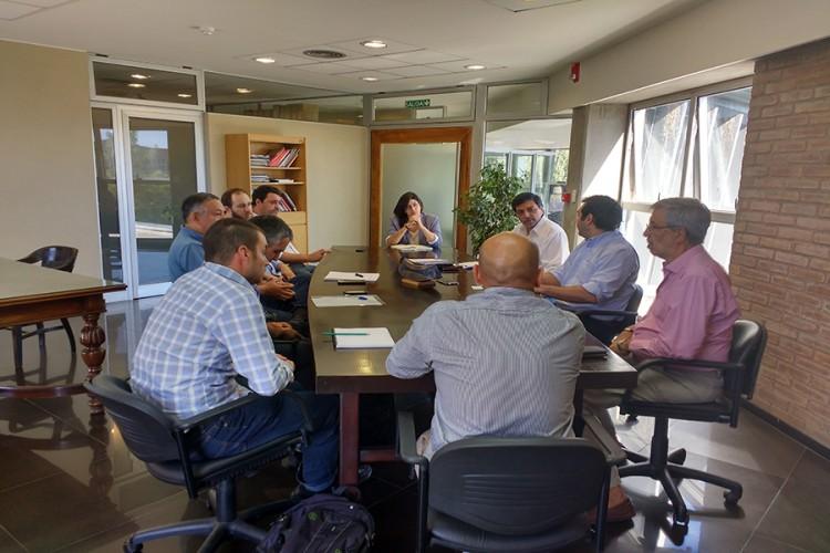 Investigadores se reunieron con representantes de UNCUYO y CONICET