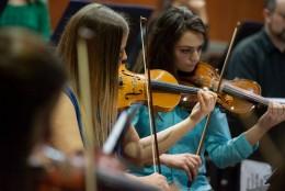 Orquesta del Programa Prácticas Pre Profesionales Supervisadas OSUNCuyo