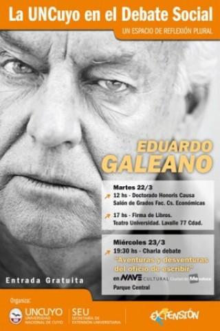 Eduardo Galeano. Aventuras y desventuras del oficio de escribir