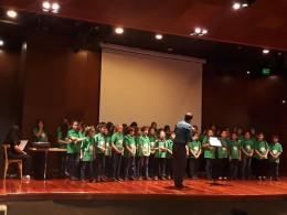 CORO PREPARATORIO DE NIÑOS de la UNSJ (San Juan). Dir. Prof. Jorge Fuentes