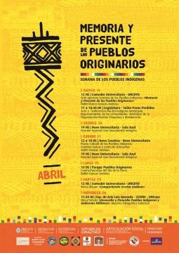 La agenda del 19 al 25 de abril será la siguiente.