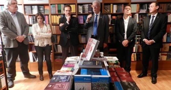 Inauguraron la librer a universitaria argentina extensi n for Libreria universitaria