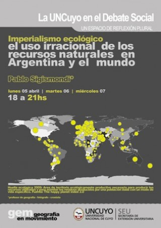 Imperialismo Ecológico.