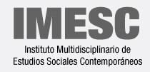 marca IMESC - Instituto Multidisciplinario de Estudios Sociales Contemporáneos
