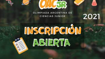 Inscripción OACJ 2021