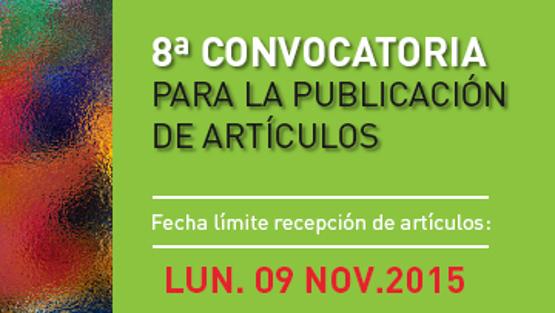 8va Convocatoria para la publicación de artículos en la PiPP