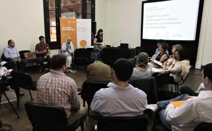 El Área de Políticas Públicas presente en el Segundo encuentro de observatorios sociales, económicos y/o ambientales de América Latina