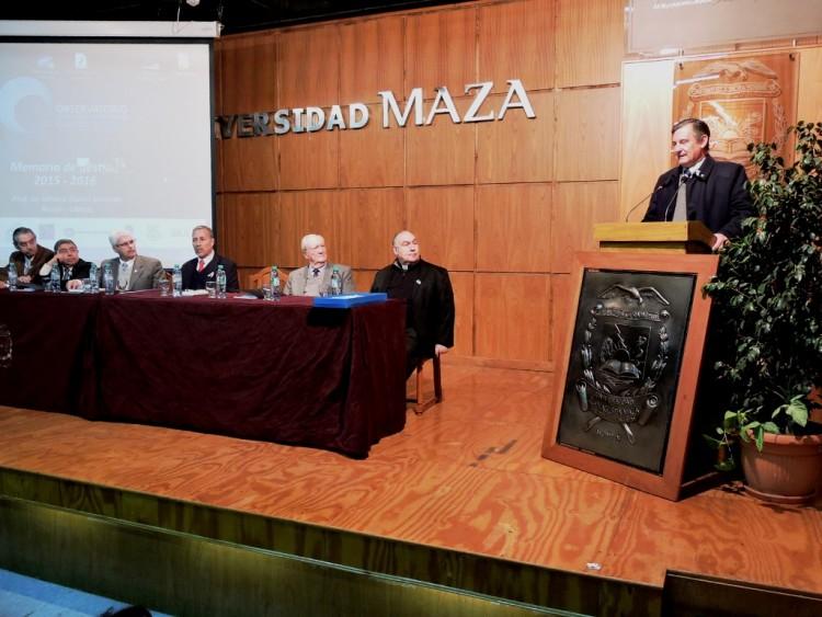 Pizzi es el nuevo presidente del Observatorio Malvinas