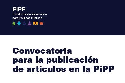 Novena convocatoria para la publicación de artículos en la PiPP