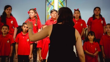 El Coro de Niños y Jóvenes cierra la temporada con Caleidoscopio