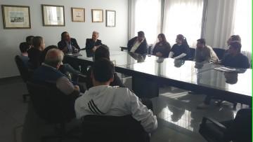 Autoridades se reunieron con estudiantes de Licenciatura en Higiene y Seguridad