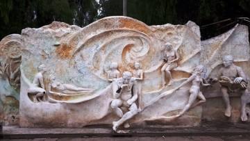 Restauran mural de Filosofía y Letras