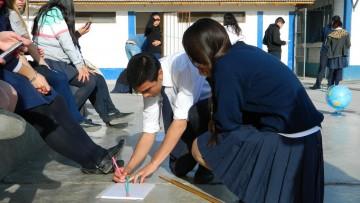 Estudiantes secundarios del Valle de Uco practican Astronomía