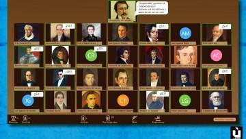 Los próceres llegan a las redes sociales para contarnos la historia