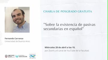 Doctor en lingüística de la UBA dará una charla virtual y gratuita