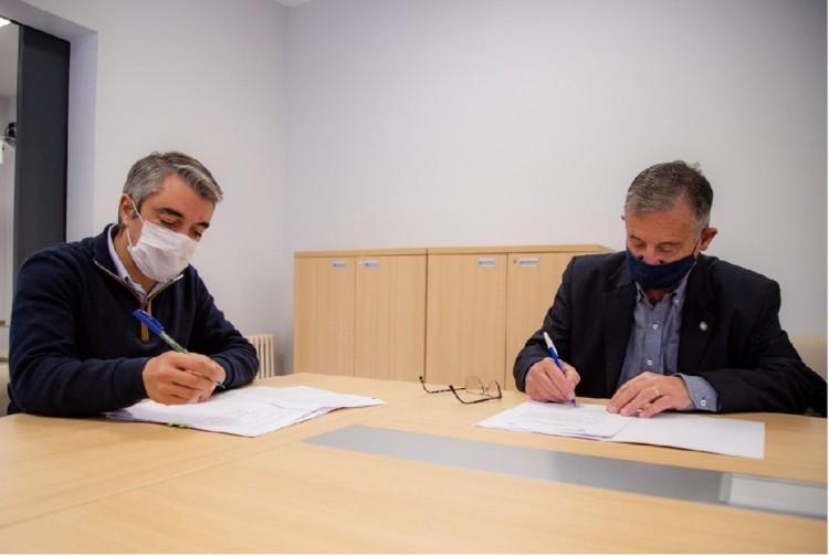 Actividades académicas: la UNCUYO y la Municipalidad de Luján firman un convenio