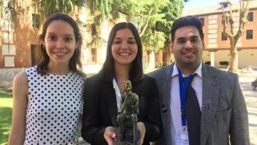 Estudiantes de la UNCUYO ganaron competencia internacional de Derechos Humanos en España