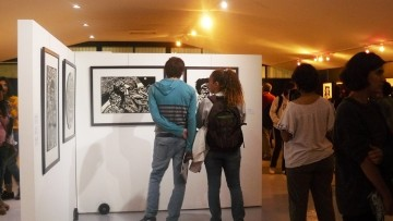 El arte de Gastón Alfaro habita la UNCuyo