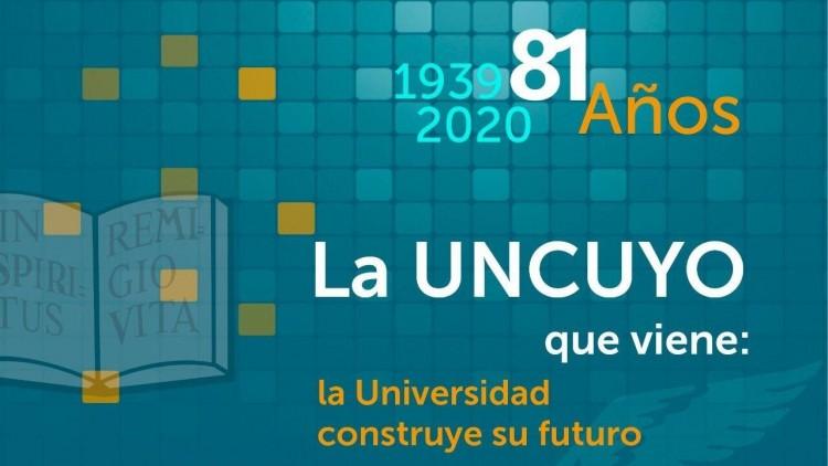 El martes la UNCUYO inicia su agenda de festejos por un nuevo aniversario