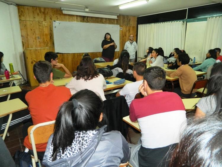 Asesoraron sobre Becas Progresar a estudiantes del Valle de Uco