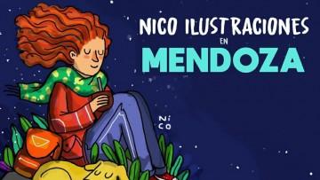 Nico Ilustraciones visitará la UNCUYO