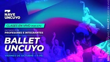 Comienzan las clases en vivo del Ballet de la UNCUYO