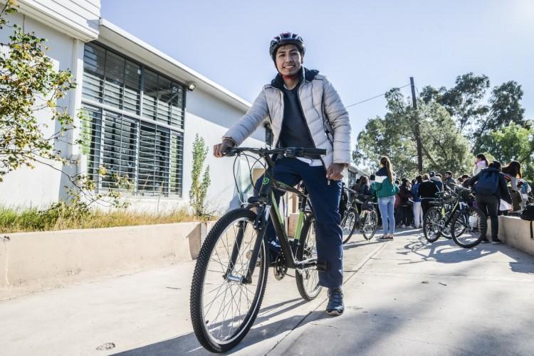 Andar en bici: una propuesta saludable de la Universidad