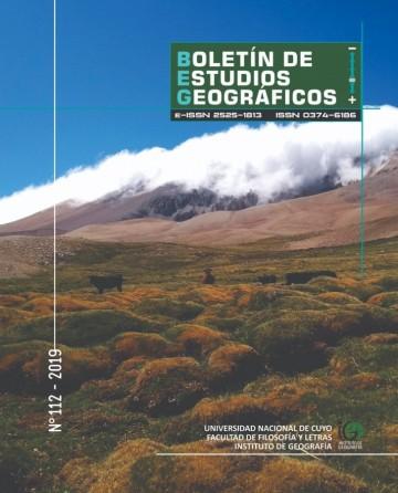 Salió nuevo número del Boletín de Estudios Geográficos