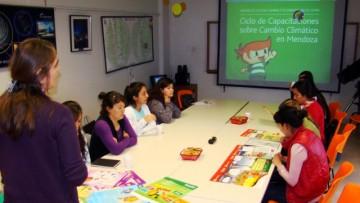 En cambio climático formaron a docentes y educadores en Malargüe