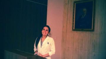 Academia Nacional de Odontología distinguió a egresada de la UNCuyo