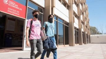 #PresencialidadUNCUYO: en Económicas regresaron a las aulas 4500 estudiantes