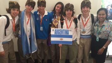 Medalla de bronce para un argentino en certamen de Ciencia