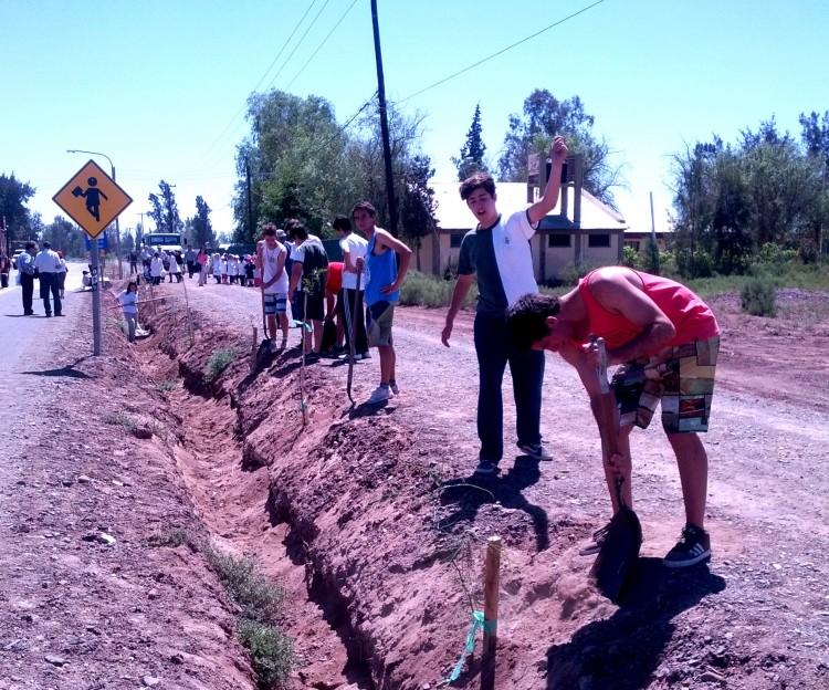 Estudiantes del Liceo plantarán árboles en escuela del Campo Papa