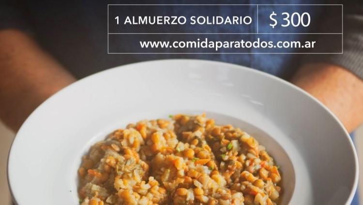 """""""Comida para tod@s"""" una campaña que apunta al hambre cero en Mendoza"""
