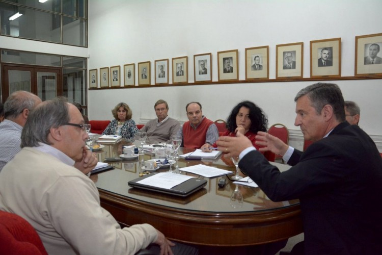 El Rector dialogó con los consejeros de Ciencias Agrarias