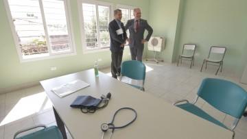 Nuevo consultorio médico de la UNCuyo para personas en situación de calle