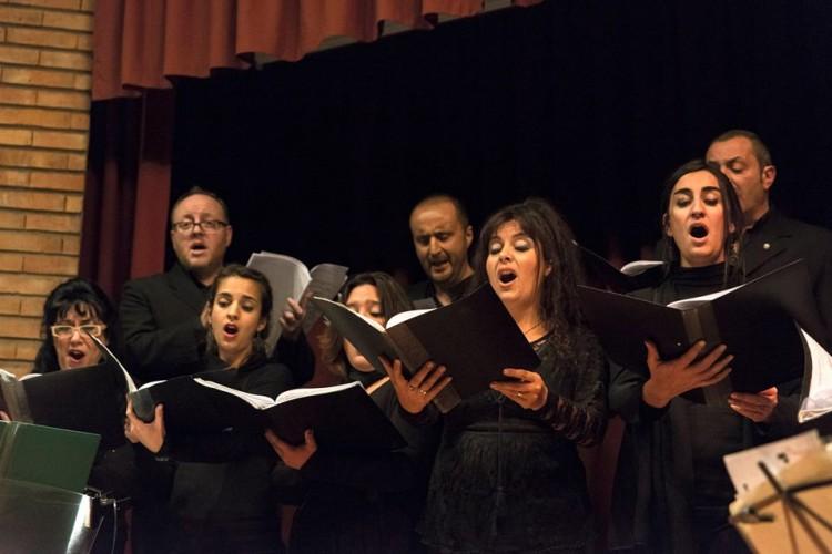 Las voces del Coro de Cámara en Los Caminos del Vino
