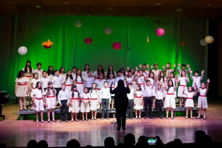 Concierto del Coro de Niños con repertorio popular y universal
