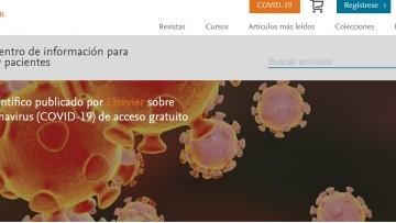 Revistas internacionales dan acceso a contenidos y datos sobre Coronavirus